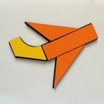 Самолет на схеме 1:1